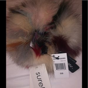 NWT Surrel Faux Fur Winter Neck Cover- Multi Color